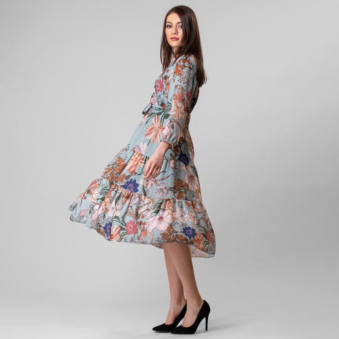 Rochie cu imprimeu floral 1