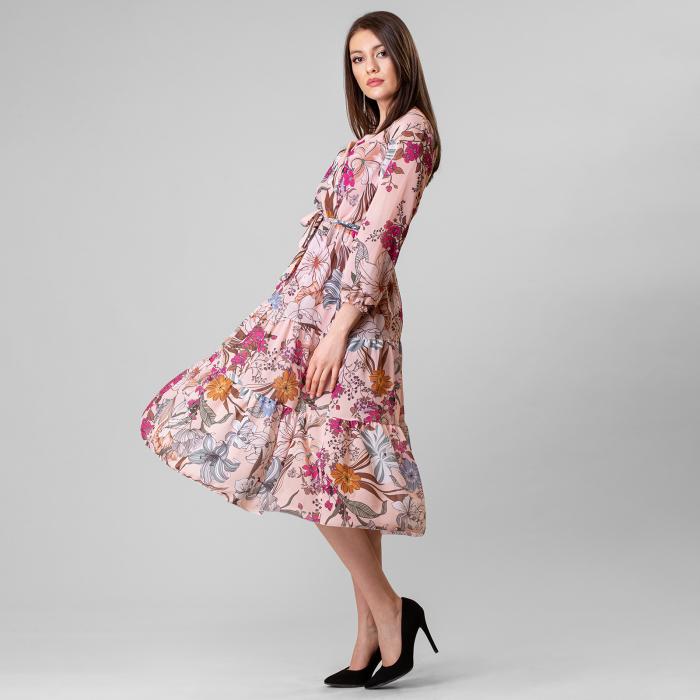 Rochie cu imprimeu floral [2]