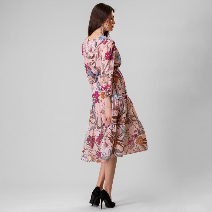 Rochie cu imprimeu floral [4]