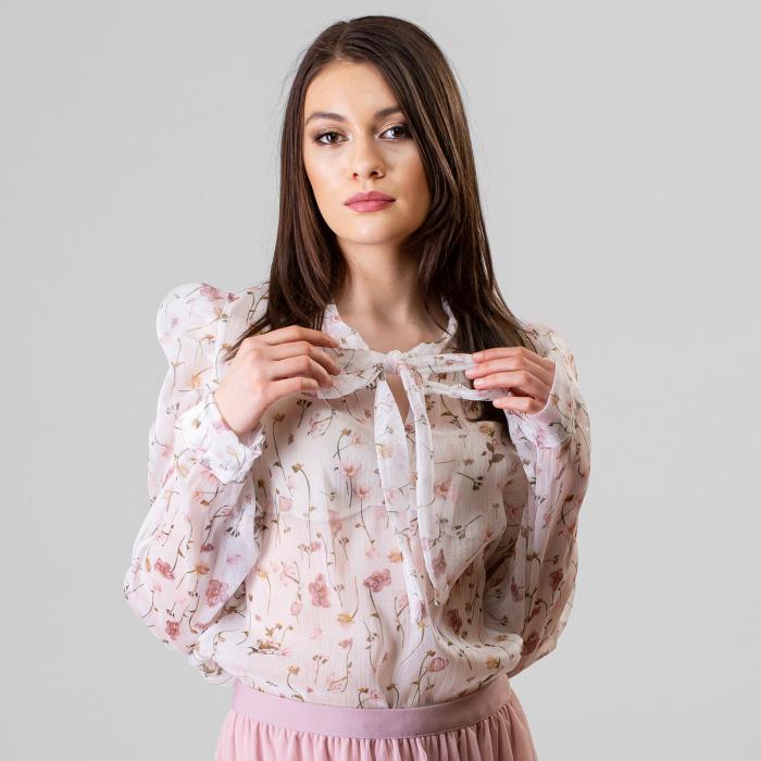 Bluza imprimeu floral 5