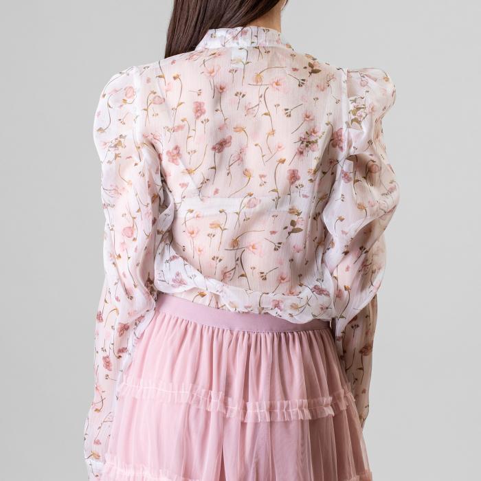Bluza imprimeu floral 8