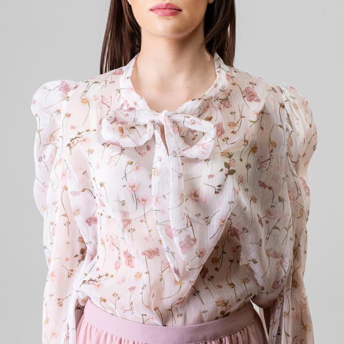 Bluza imprimeu floral 0