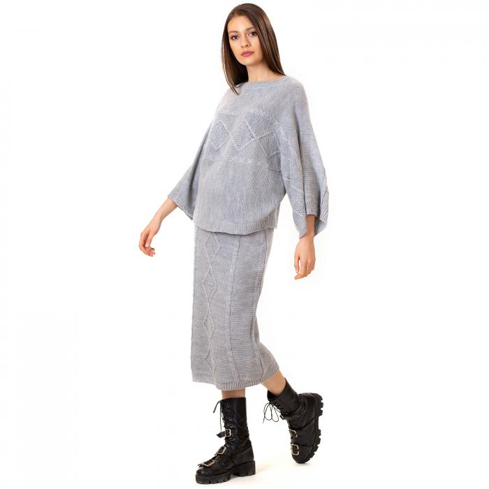 Compleu bluza tip fluture si fusta lunga [1]