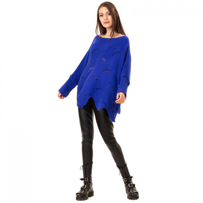Bluza oversize cu maneca tip fluture 0