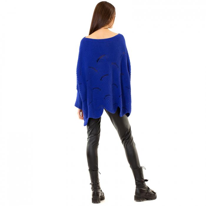 Bluza oversize cu maneca tip fluture 3