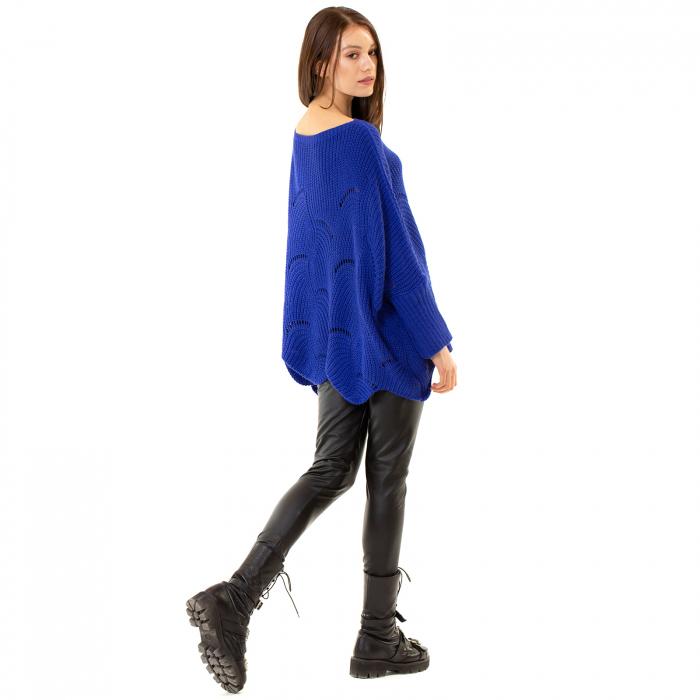Bluza oversize cu maneca tip fluture 4