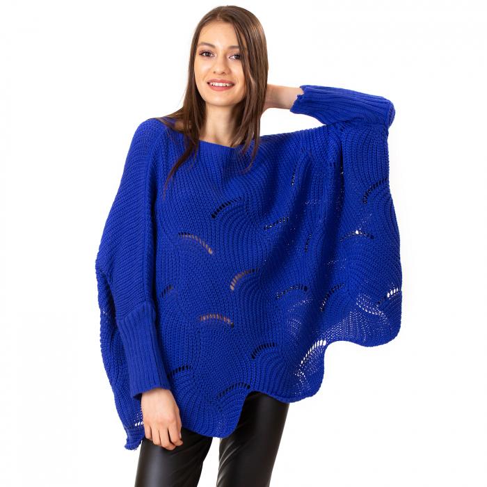 Bluza oversize cu maneca tip fluture 6