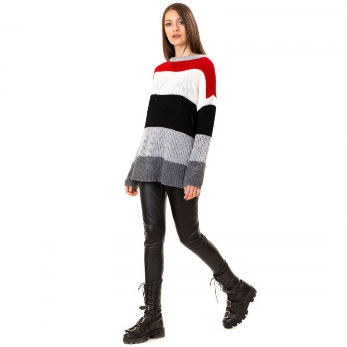 Bluza tricotata maneca lunga 0