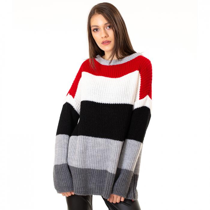 Bluza tricotata maneca lunga [5]