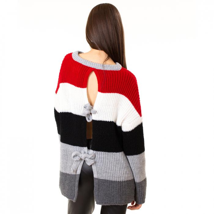 Bluza tricotata maneca lunga [6]