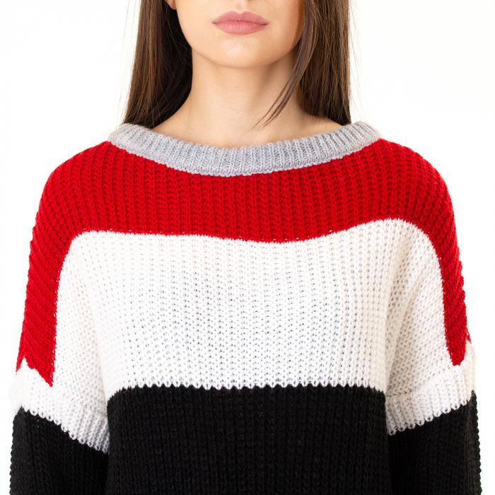 Bluza tricotata maneca lunga [7]