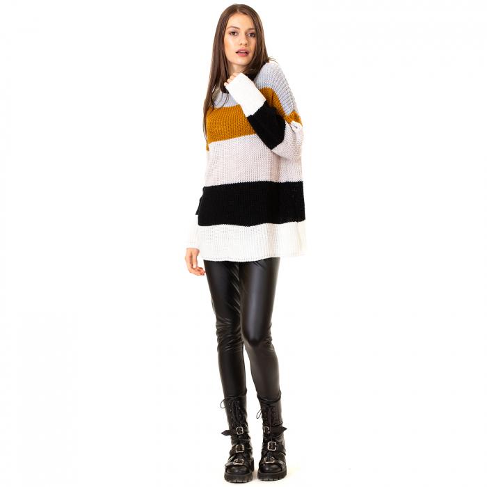 Bluza tricotata maneca lunga 1