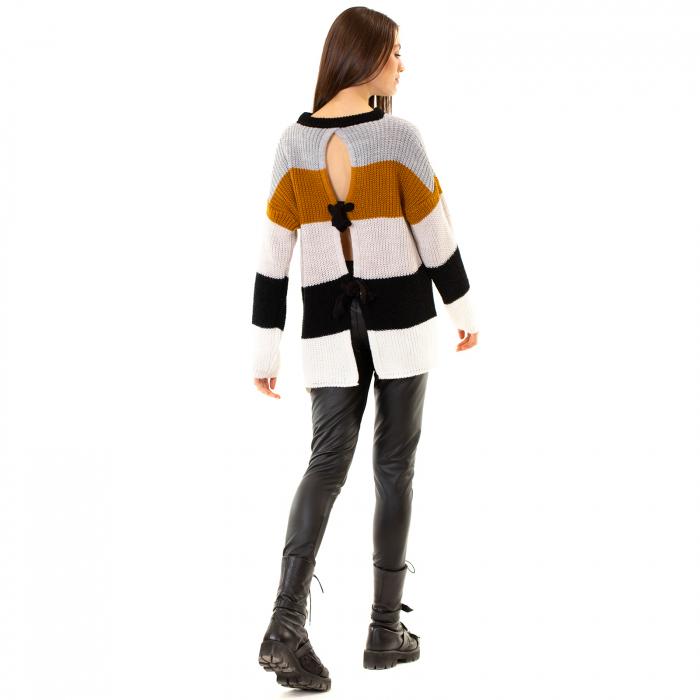 Bluza tricotata maneca lunga 3