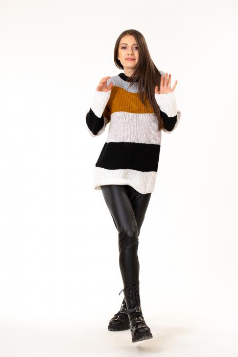 Bluza tricotata maneca lunga 4