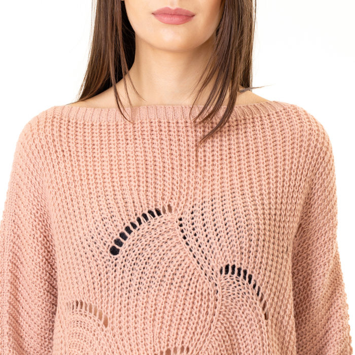 Bluza oversize cu maneca tip fluture 5