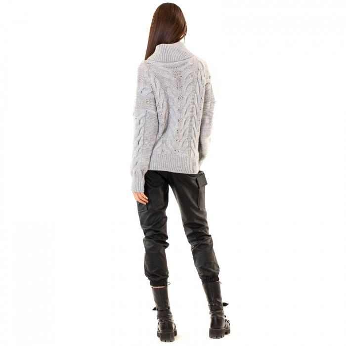 Bluza tricotata cu guler 3