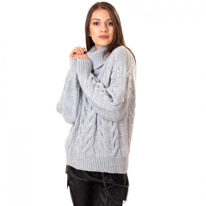 Bluza tricotata cu guler 5
