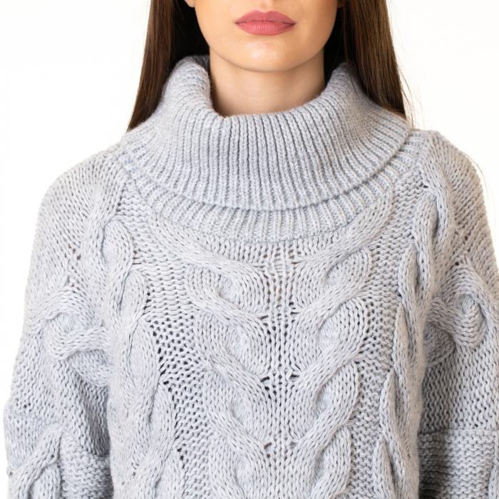 Bluza tricotata cu guler 6