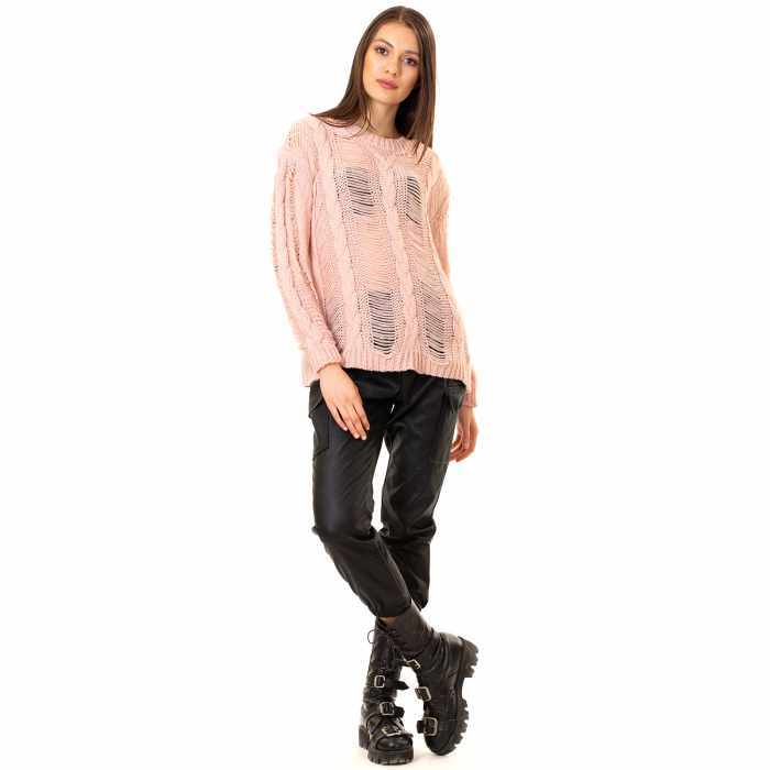 Bluza trcicotata transparenta [2]