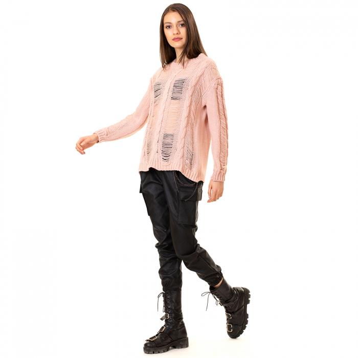 Bluza trcicotata transparenta 3
