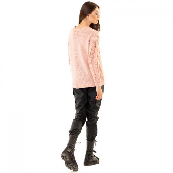 Bluza trcicotata transparenta 4