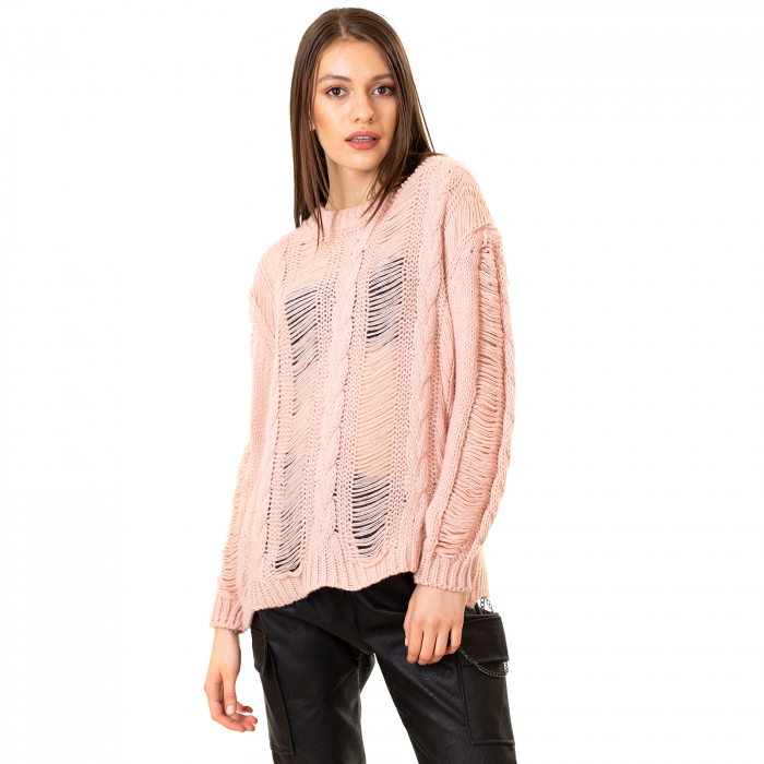 Bluza trcicotata transparenta [0]