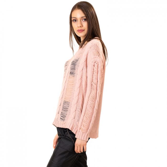 Bluza trcicotata transparenta [6]