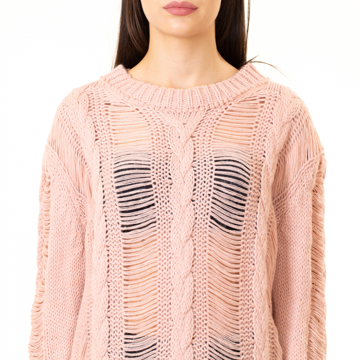 Bluza trcicotata transparenta [7]