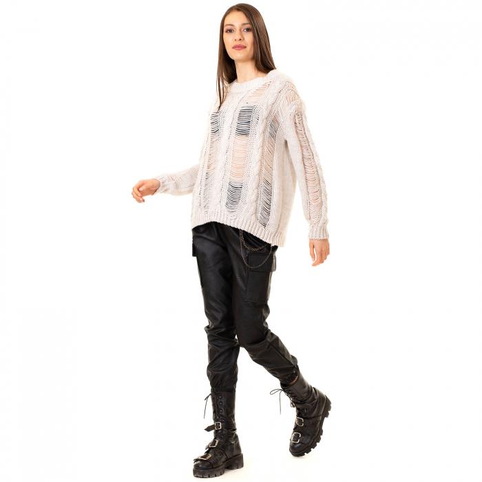 Bluza tricotata transparenta 3