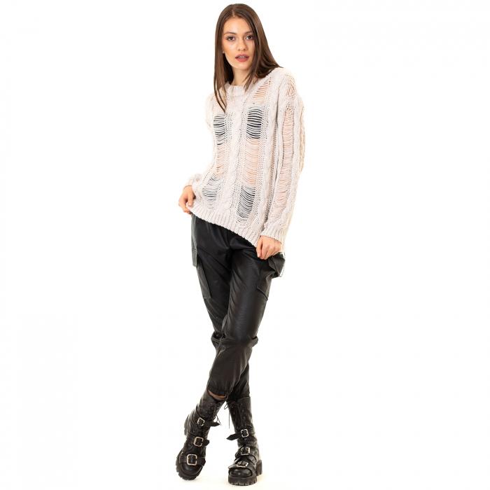 Bluza tricotata transparenta 4