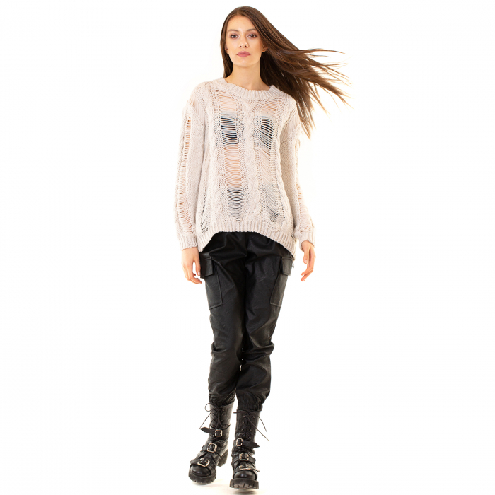 Bluza tricotata transparenta 6