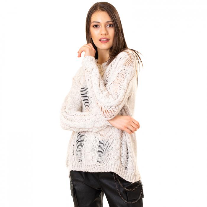 Bluza tricotata transparenta 7