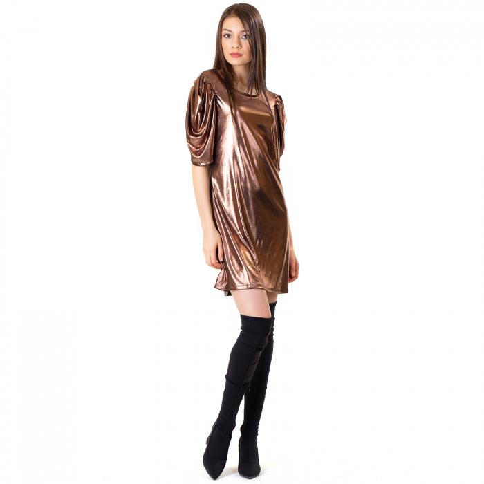 Rochie cu maneca incretita 3