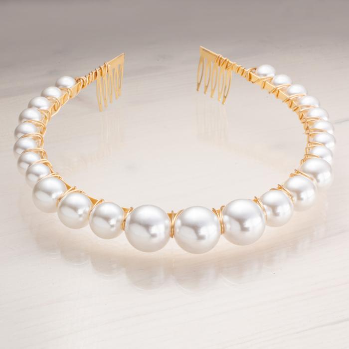 Bentita cu perle 0