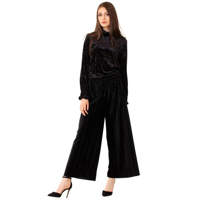 Fusta pantalon plisata 4