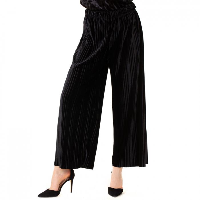 Fusta pantalon plisata 0