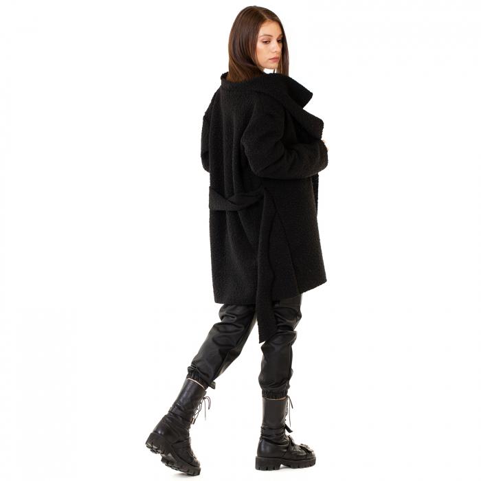 Palton scurt cu cordon in talie [2]