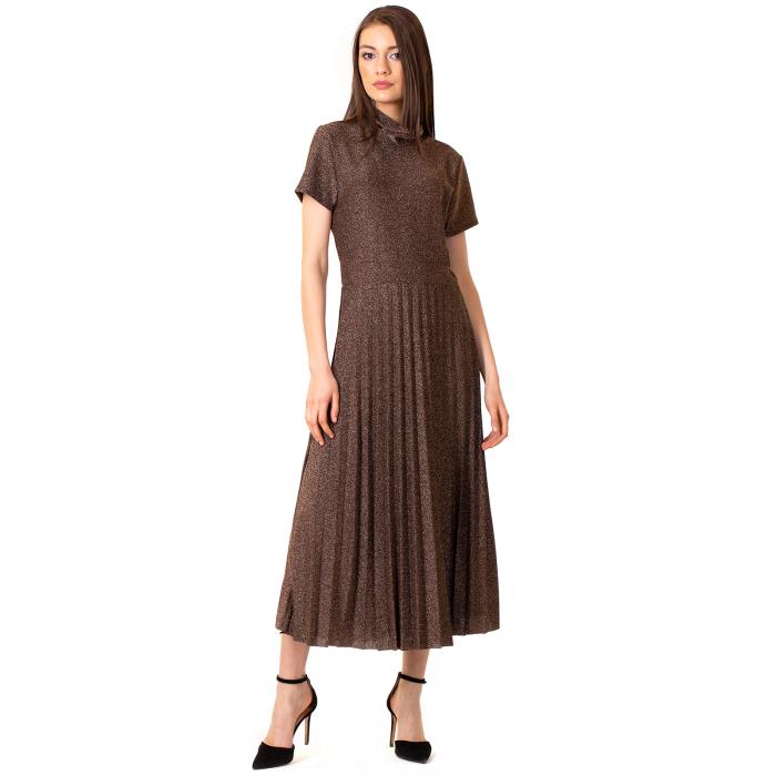Rochie lunga cu sclipici [8]