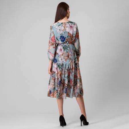 Rochie cu imprimeu floral4
