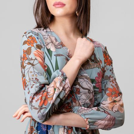 Rochie cu imprimeu floral5
