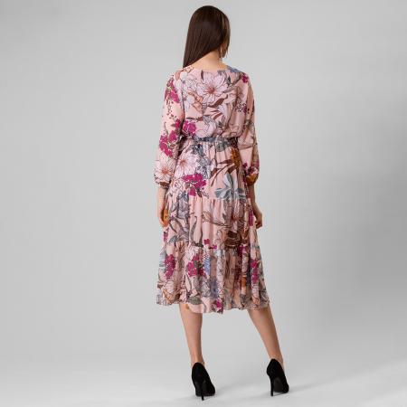 Rochie cu imprimeu floral [3]