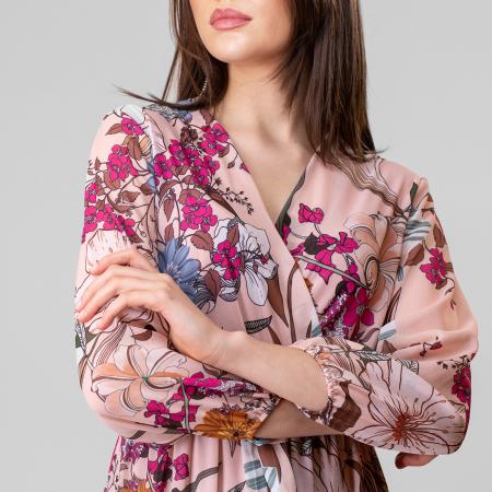 Rochie cu imprimeu floral [5]