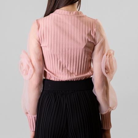 Bluza maneca trandafir4