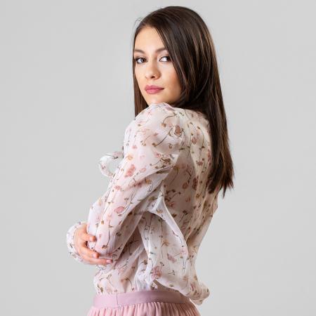 Bluza imprimeu floral6