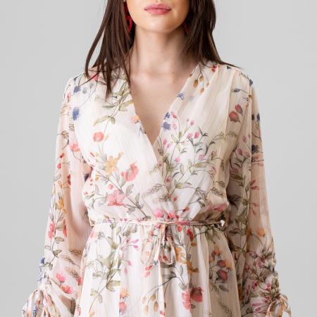 Rochie imprimeu floral5