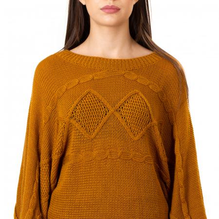 Compleu bluza tip fluture si fusta lunga [6]
