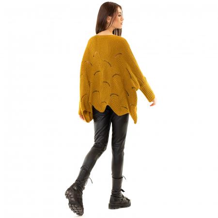 Bluza oversize cu maneca tip fluture2