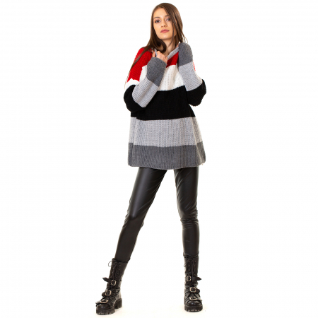 Bluza tricotata maneca lunga [2]