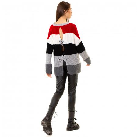 Bluza tricotata maneca lunga [3]