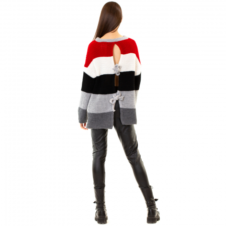 Bluza tricotata maneca lunga [4]